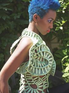 photographer:  Ryuichiro Louis Iijima model: Nadja Naeve  hair & make-up:  Verena Schroff